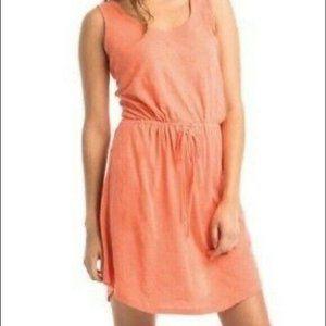 Synergy organic cotton dress open back XL ORANGE